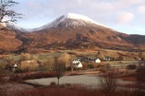 Red Cuillin at New Year