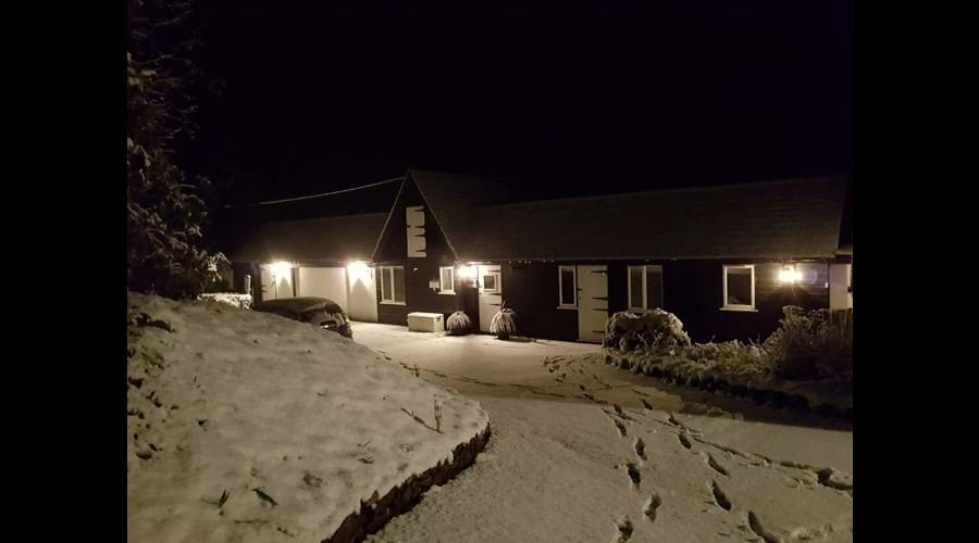 Its not often we have snow in Cornwall!