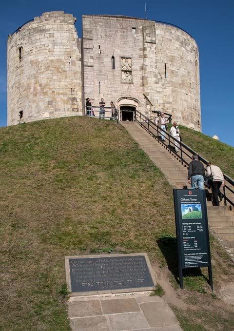 Cliffords Tower - Panoramic Views of the City