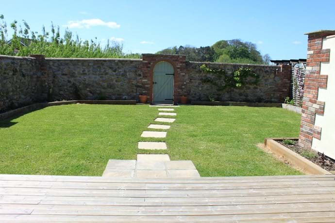 Private Walled Garden