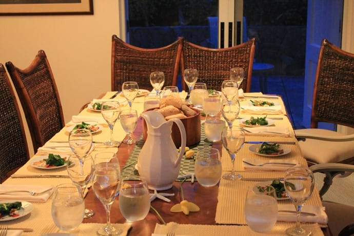 a wonderful dining experience with friends or family.