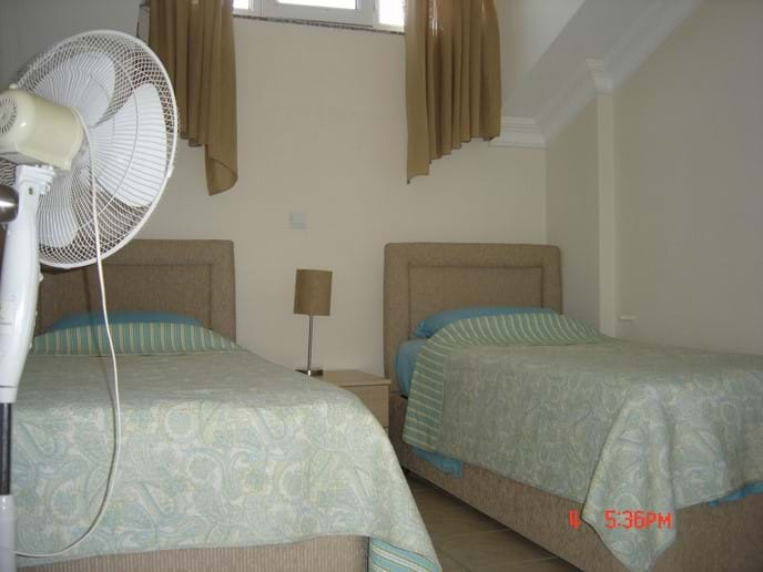 Upper Floor Double Bedded Room