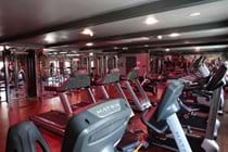Fully equipped gym free for guests.