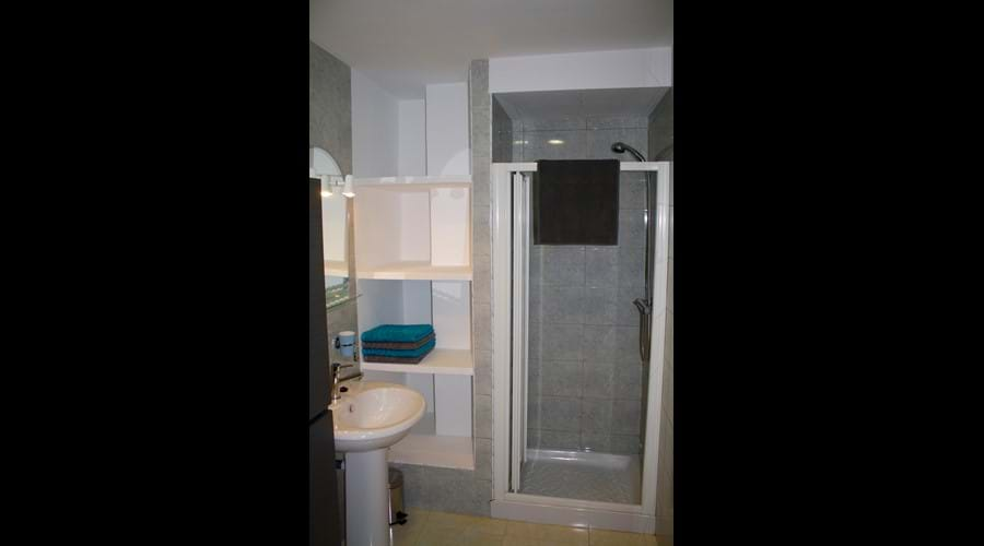 Master Bedroom en-suite with both shower and bath