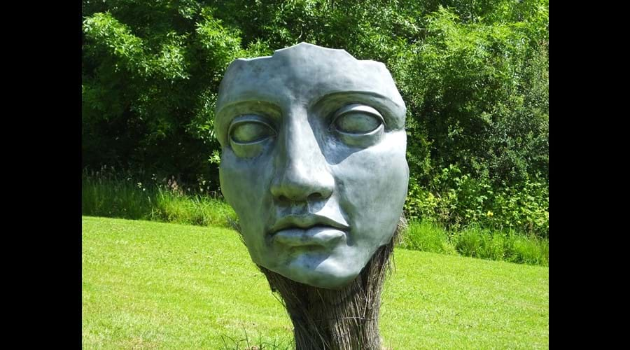 Sculpture Heavens. This was a great little find on a tour round, very interesting work shop and nice tea and cakes.
