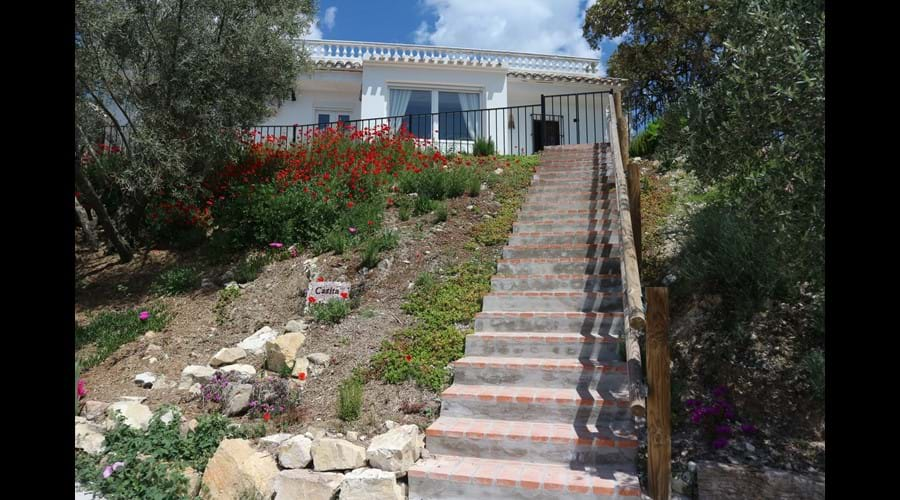 Your own private steps from the parking space