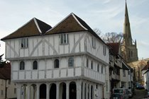 Medieval Guildhall, still in daily use, in nearby Thaxted