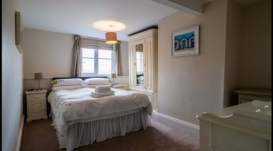 2nd Floor Double Bedroom with king size bed, wardrobe and dressing table