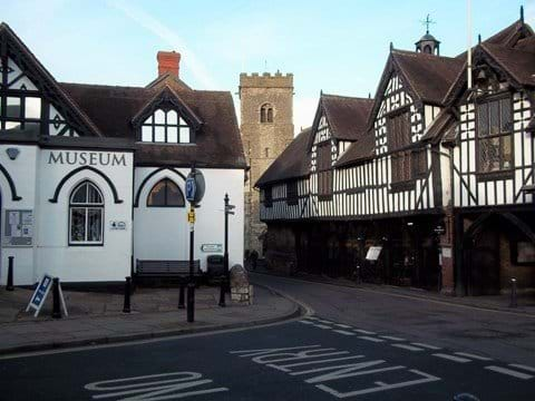 MUCH WENLOCK - The birth place of Dr William Penny Brooke