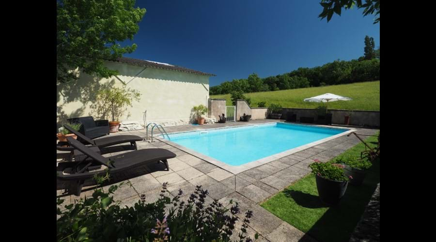 Cottage pool 9 x4.5 mtr