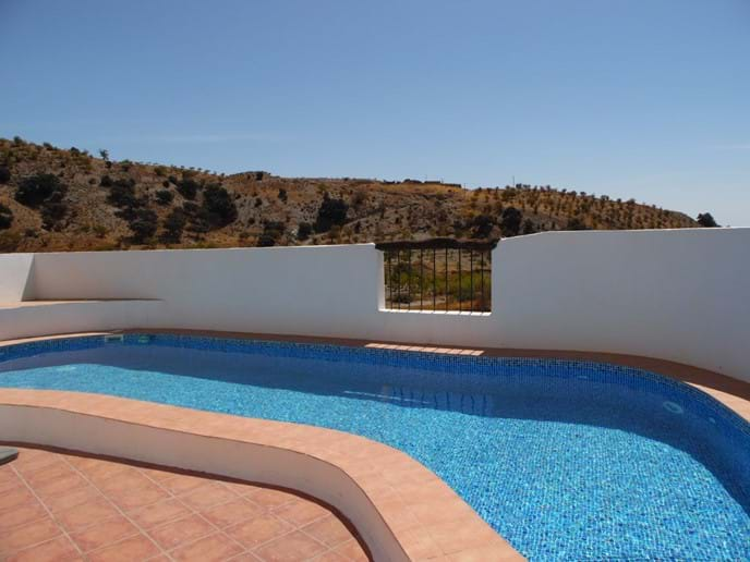 Swimming Pool and View.