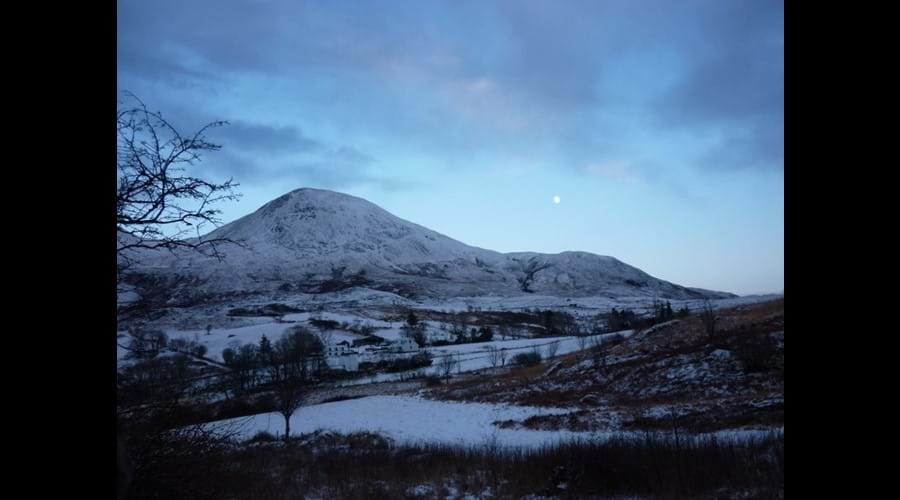 Winter Moon over Torrin