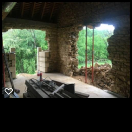 Walnut Barn - lounge french doors
