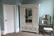 Master Bedroom Wardrobe and Dressing Table (Door leading to Ensuite Shower Room)
