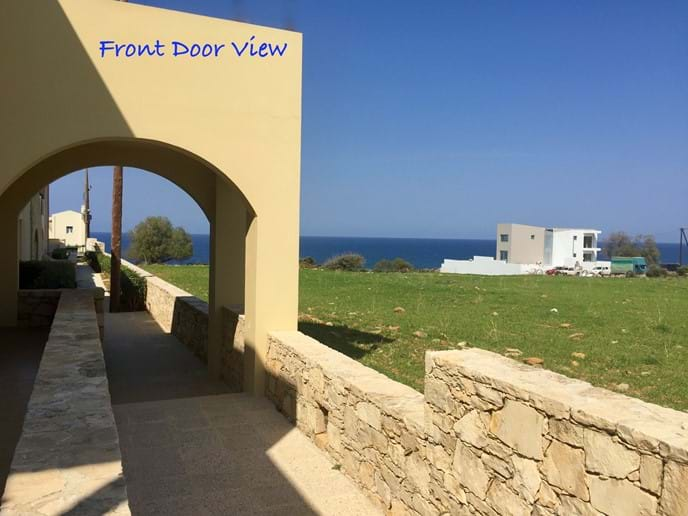Views of the Sea from Front Door