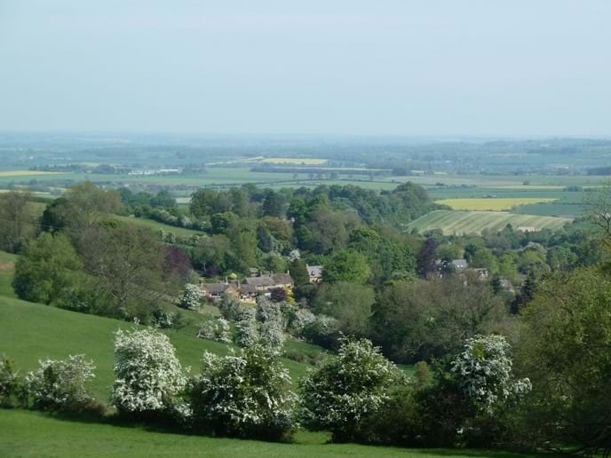 The village of Ilmington