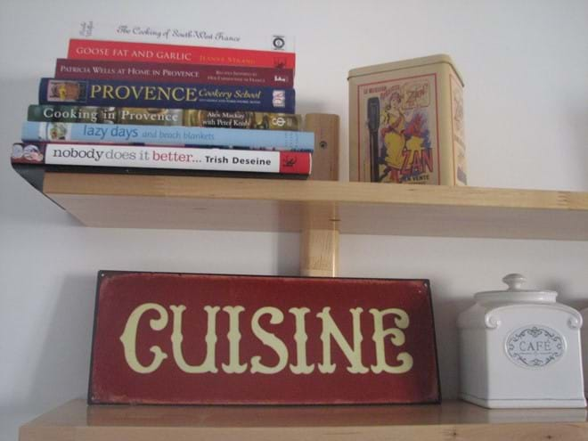 Regional cookery books in the Kitchen!