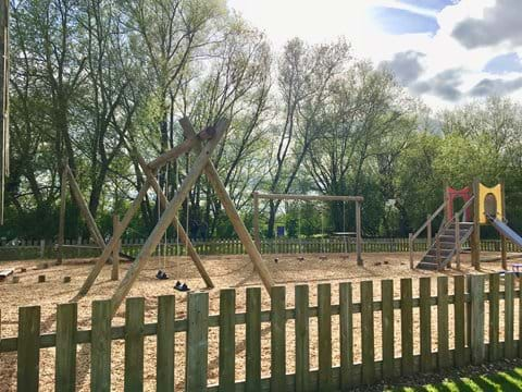 Adventure playground at Windrush