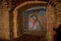 Wall mosaic Lithostrotos