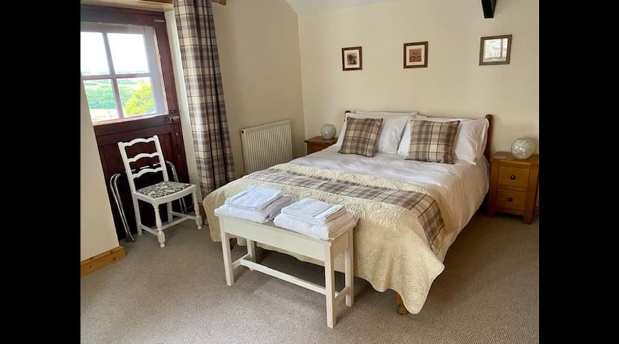 Hayloft Bedroom, King with Countryside Views