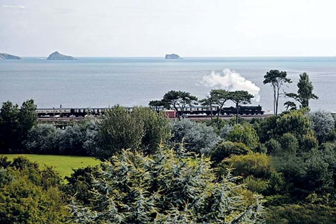 Goodrington and the Dartmouth Steam Train