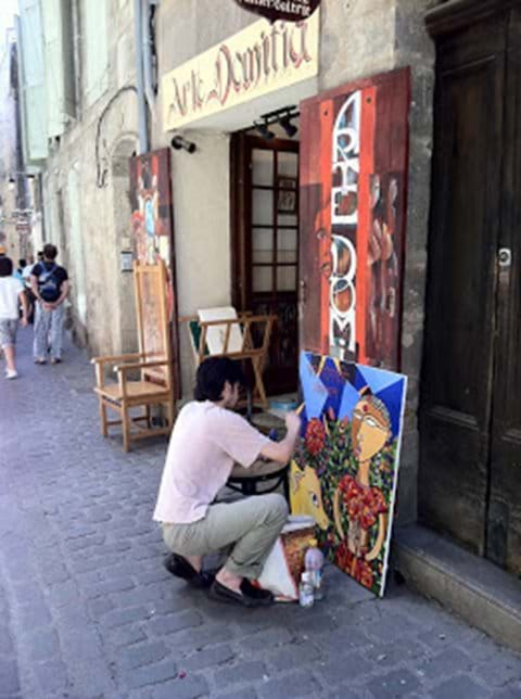 Pézenas - a town of artists and craftsmen