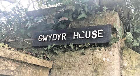 Gwydyr House visited by Queen Victoria 14th February 1900