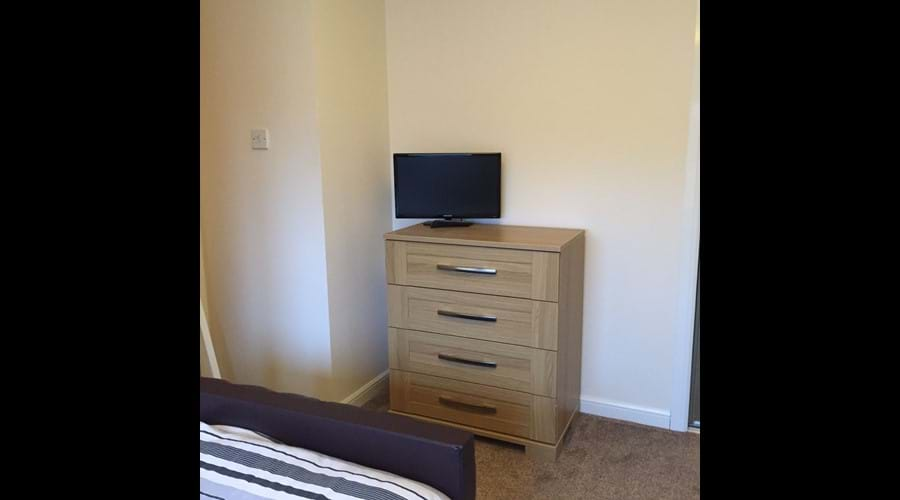 Twin bedroom  - digital TV
