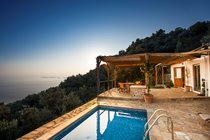romantic cottage retreat private pool to rent Skopelos Island price villa
