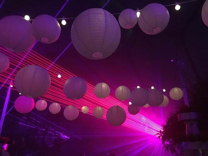 Eden festival of lights