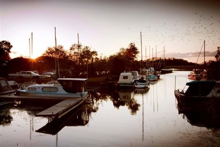 Kilgarvan Quay - marina within walking distance of house