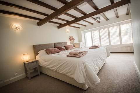 Double bedroom Port Erin beach, or twin beds