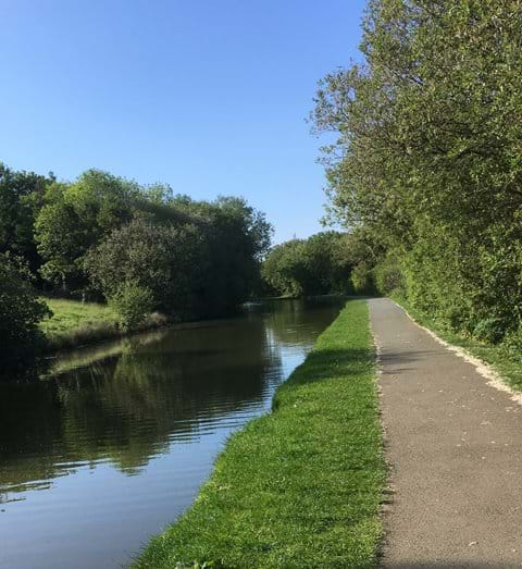 A lovely walk alongside Bude Canal