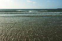 Windy day on Gansey beach