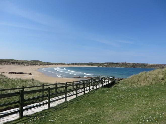 Mullaghderg beach, just 2km from the cottage