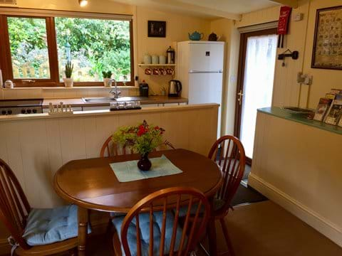 Cottage dining and kitchen