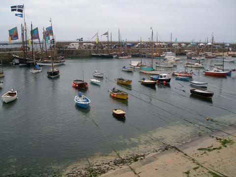 Sea Salts and Sails Festival in Mousehole held every other year (2018, 2020, 2022)