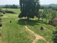 One of the beautiful views from The Farmhouse