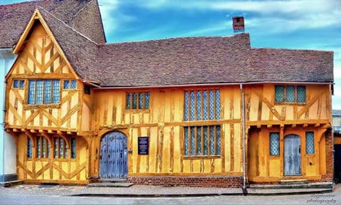 The Little Hall overlooking the Market Place in Lavenham