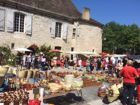 Issigeac Market Every Sunday Morning