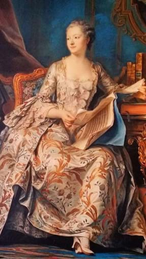 Painting of Madame Pompadour