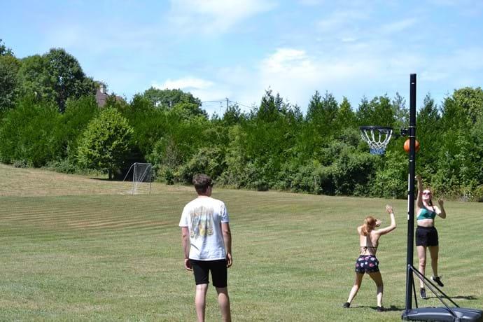 Plenty of space to enjoy outdoor games