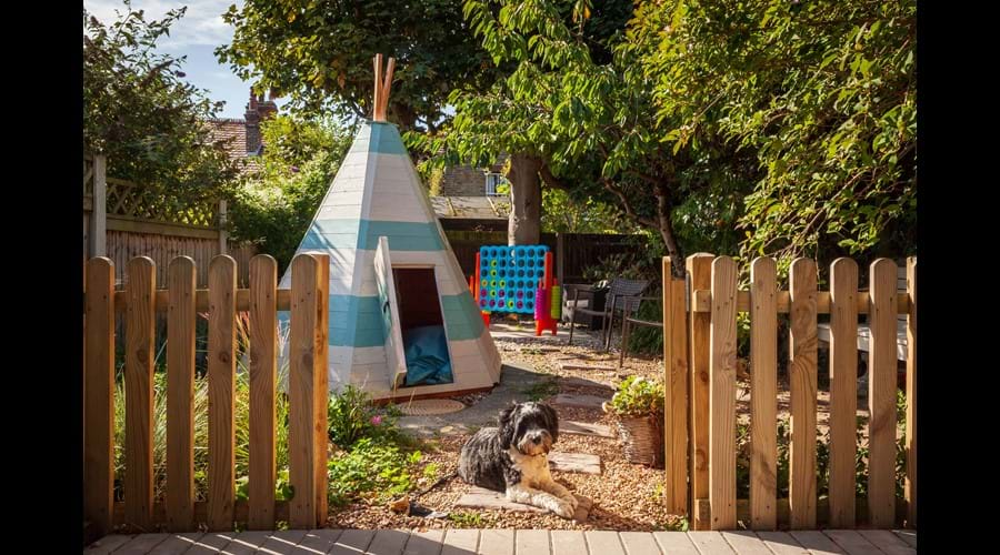 A shady place for children and dogs