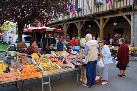 Mirepoix, Monday market