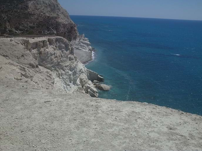 On the way to Aphrodites Birthplace (rock)