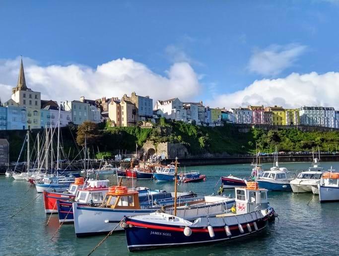 Caldey Island boats
