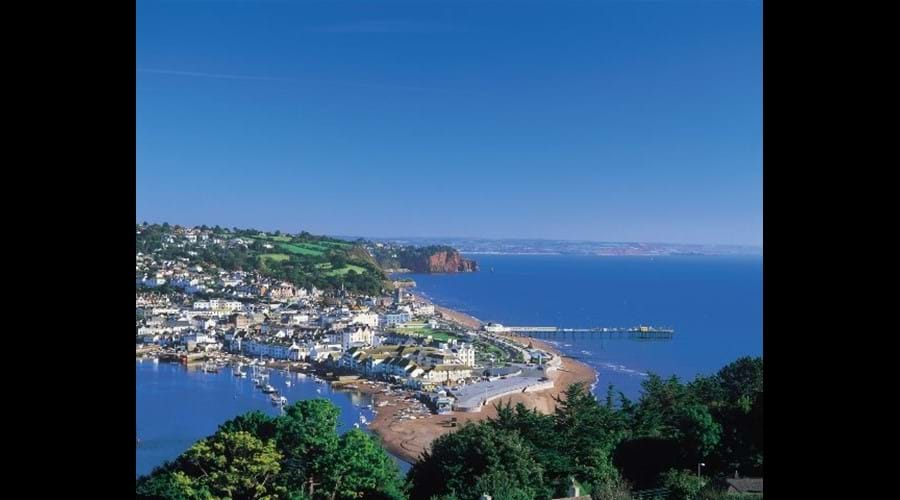 Looking over to Teignmouth from Shaldon