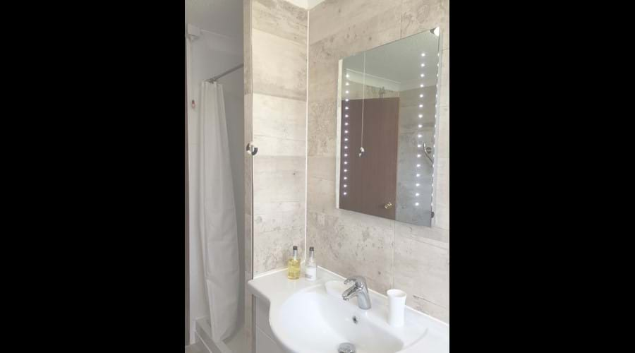 Newly fitted family bathroom - with separate shower cubicle