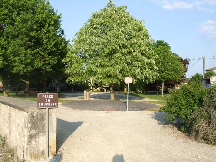 Village Place (Boules Area)