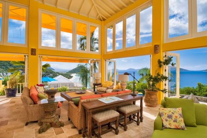 The views from anywhere in this villa are .....